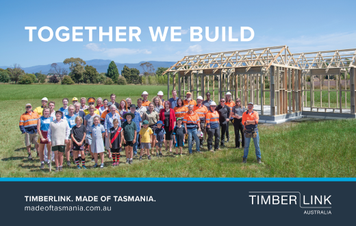 TIMBERLINK. MADE OF TASMANIA