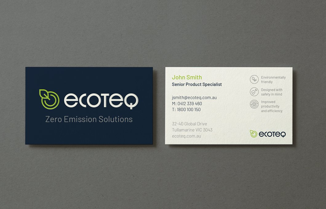 EcoTeq Business Card