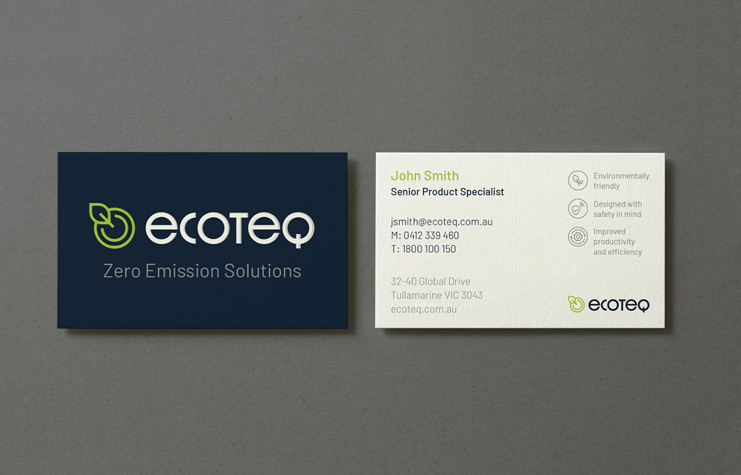 EcoTeq Business Card